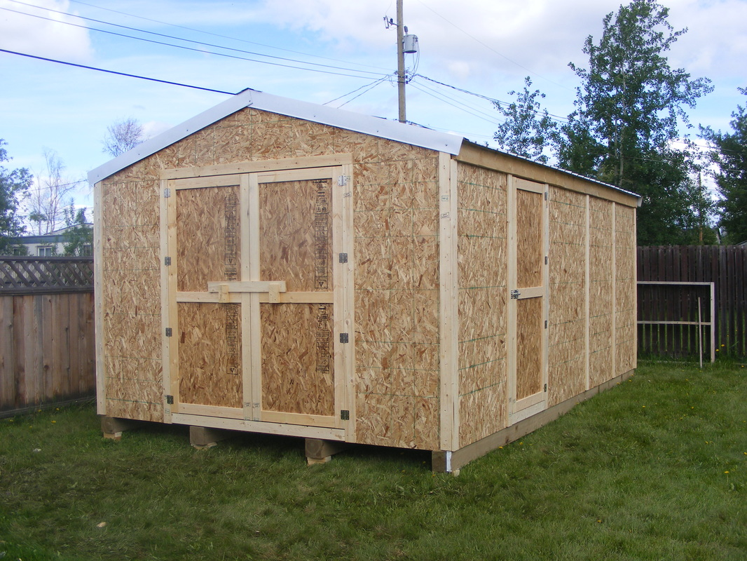 Garden Sheds 20 X 12 storage sheds / garages - prices - northern storage sheds / fort
