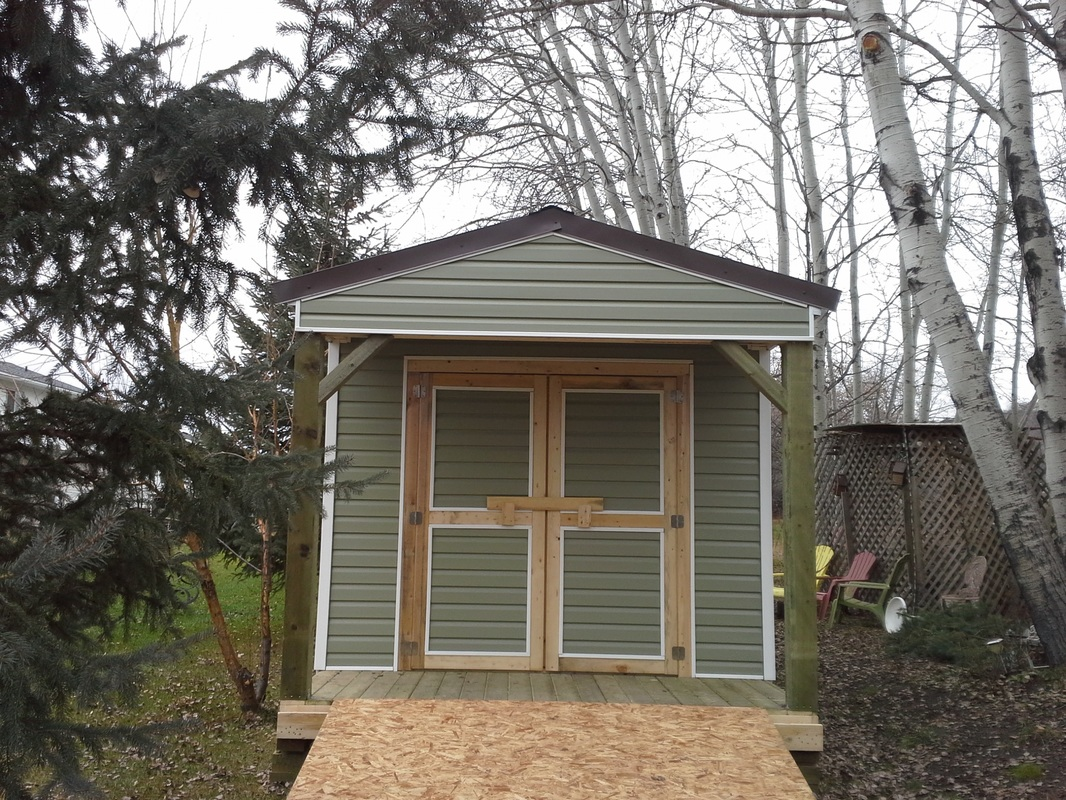 Storage sheds garages prices northern storage sheds for Shed with covered porch