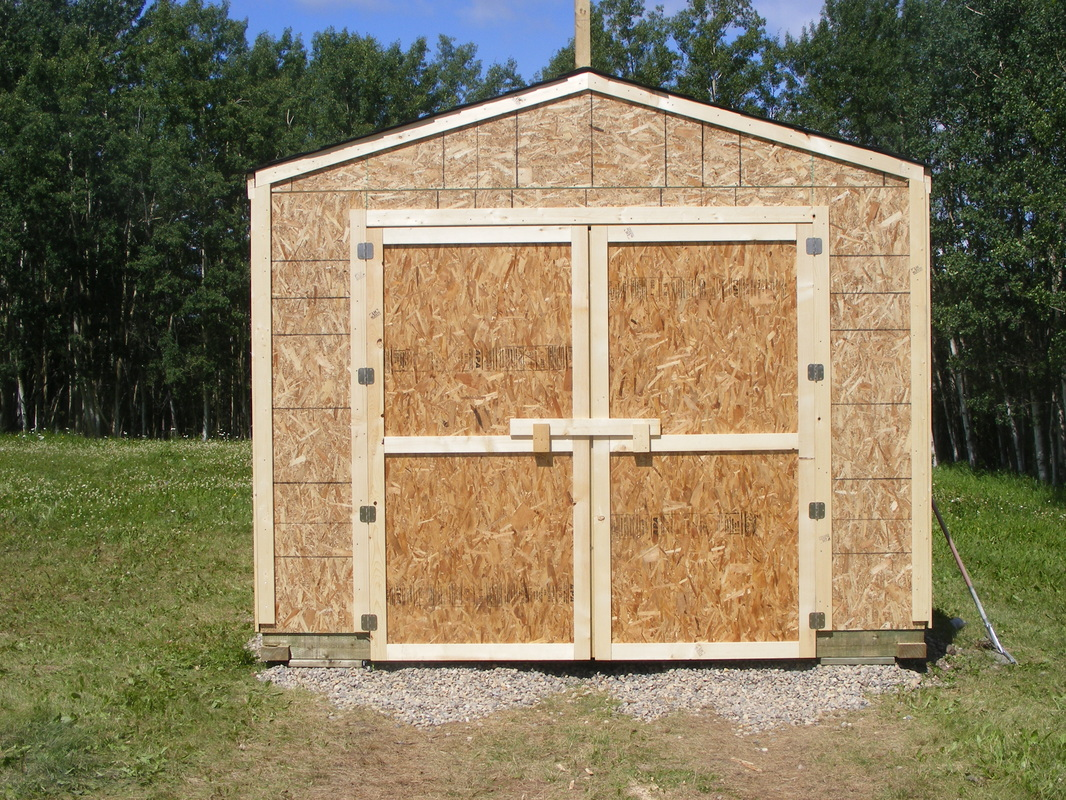 Farm / Acreage / Tractor Storage   Northern Storage Sheds / Fort St John /  British Columbia