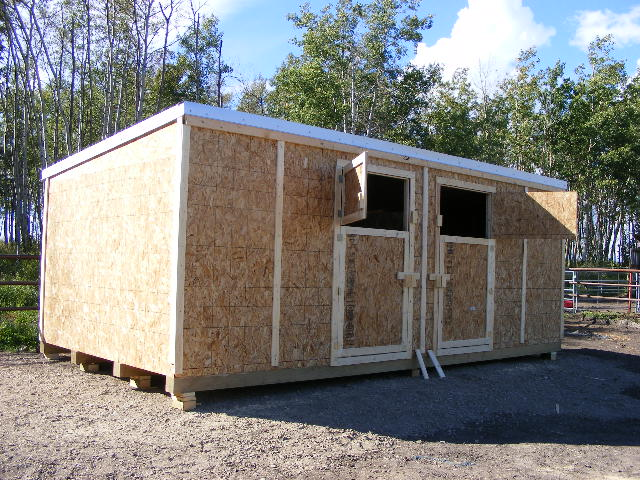 Horse shelters prices northern storage sheds fort st for Horse barn prices