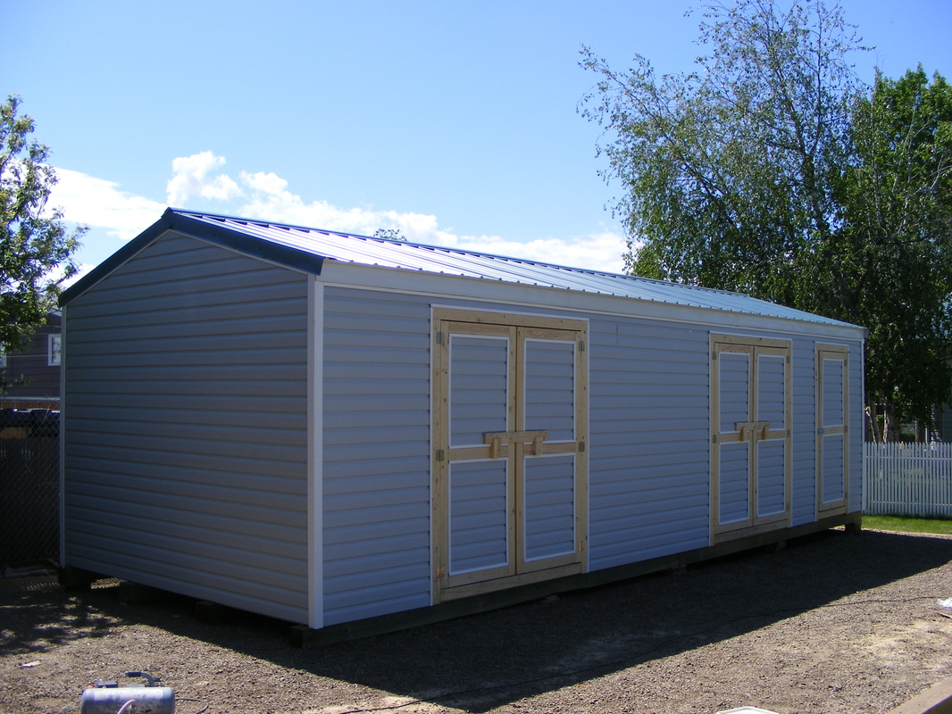 10 X 40 Storage Shed Cabin With Side Porch Trend Home