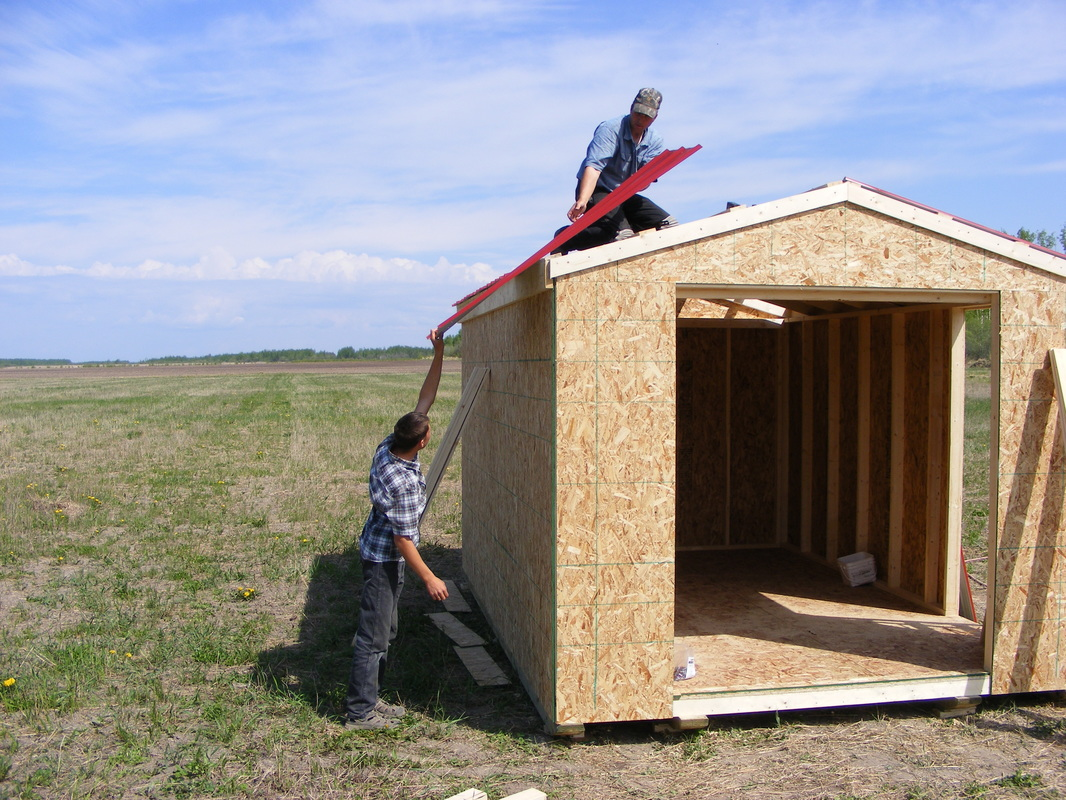 We Build Your Shed Right Where You Need It, To Eliminate Moving Costs And  To Access Hard To Get Areas And Back Yards. Fast Turn Out Rate, Usually One  Day ...