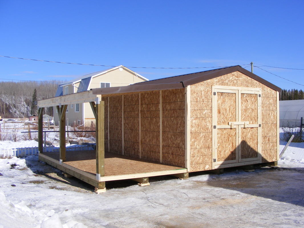 Northern Storage Sheds / Fort St John / British Columbia - Home